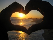 Sunset-Heart